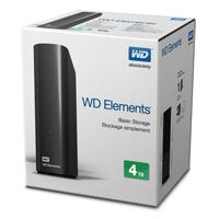 DD EXT ESCRITORIO 4TB WD ELEMENTS NEGRO 3.5 / USB3.0 / WIN WD - WESTERN DIGITAL WDBWLG0040HBK-NESN