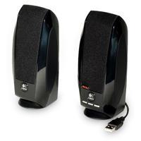 BOCINAS LOGITECH S150 2.0 NEGRAS (ENERGIA Y AUDIO POR USB) PC/MAC