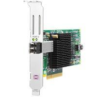 ADAPTADOR DE BUS DE HOST CANAL DE FIBRA PCIE HP 81E DE 8 GB Y 1 PUERTOS HP AJ762B