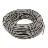BOBINA DE CABLE  RJ45 INTELLINET  CAT 6 CCA  SOLIDA  23AWG COLOR GRIS  305 MTS  INTELLINET 704663