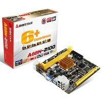 MB BIOSTAR A68N-2100 CPU INTEGRADO AMD E1-2100 / 2X DDR3 1333 / VGA / HDMI / 2X USB 3.0 / MINI ITX /