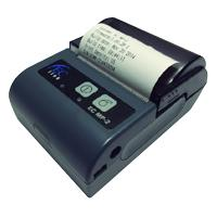 MINIPRINTER TERMICA PORTATIL EC LINE EC-MP-2 RS232+USB, BLUETOOTH, NEGRA/GRIS, 58MM (3.15)