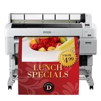 PLOTTER EPSON SURE COLOR T5270, 36 PULGADAS (91.44 CM) , RED Y USB, 5 TINTAS, 2.880 X 1.440 PPP