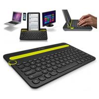 TECLADO LOGITECH K480 NEGRO/AMARILLO INALAMBRICO BLUETOOTH MULTIPLATAFORMA PC/TABLET/SMARTHONE