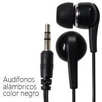 AUDIFONOS GHIA ENTRADA 3.5 MM NEGROS GHIA N/A