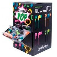 EXHIBIDOR MANHATTAN P/MOSTRADOR CON AURICULARES SOUND POP