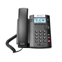 TELEFONO IP POLYCOM VVX 201, 2 LINEAS POLYCOM 2200-40450-025