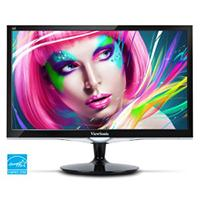 MONITOR LED VIEWSONIC 23.6, VX2452MH, FULL HD 1920X1080, HDMI, DVI, VGA, BOCINAS INTEGRADAS, NEGRO