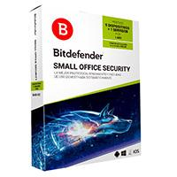 BITDEFENDER SMALL OFFICE SECURITY, 5 PC + 1 SERVIDOR + 1 CONSOLA CLOUD, 1 AÑO DE VIGENCIA, FISICO