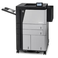 OPS IMPRESORA HP COLOR LASERJET ENTERPRISE M855XH,45 PPM,BANDEJAS ADICIONAL, HDD, DUPLEX, RED, A3
