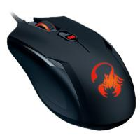 MOUSE OPTICO ALAMBRICO GENIUS P/GAMERS PROFESIONAL AMMOX X1-400 USB NEGRO