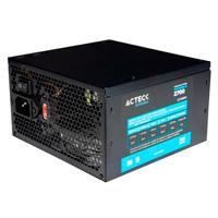 FUENTE DE PODER ACTECK FACTOR ATX 700 W 24 PINES 2 SATA2 MOLEX 1 PCI-E 6+2 VENTILADOR 12 CM ACTECK