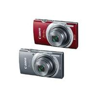 CAMARA CANON POWERSHOT ELPH 180 20MP 8X LCD 2.7 BAT.LITIO V.HD ESTABILIZADOR COLOR ROJO