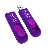 MEMORIA ADATA 16GB USB 2.0 C008 RETRACTIL MORADO