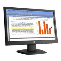 MONITOR LED HP 18.5 VALUE V194 RESOLUCION 1366 X 768 VGA NEGRO 3/3/3