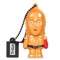 MEMORIA MANHATTAN USB 8 GB - SW TFA C-3PO BRAZO ROJO TRIBE