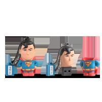 MEMORIA MANHATTAN USB 8 GB - DC SUPERMAN TRIBE