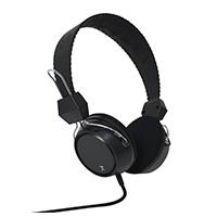 AUDIFONO DIADEMA PERFECT CHOICE ESSENTIALS MANOS LIBRES 3.5 MM TRRS NEGRA