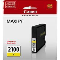 CARTUCHO DE TINTA CANON PGI-2100Y AMARILLO P/ IB4010 MB5310 RENDIMIENTO 1000 PGINAS