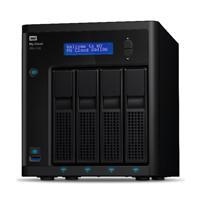 NAS WD MY CLOUD PR4100 8TB / CON 2 DISCOS DE 4TB / 4BAHIAS / 1.6GHZ / 4GB / 2ETHERNET / 3USB3.0 / RA