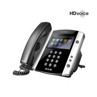 TELEFONO IP POLYCOM VVX 600 16-LINE BUSINESS MEDIA PHONE WITH BUILT-IN BLUETOOTH AND HD VOICE POLYCO