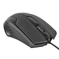 MOUSE OPTICO EASY LINE 1200 DPI WIN XP VISTA/7/8/8.1 MAC OS X USB NEGRO