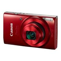 CAMARA CANON POWERSHOT ELPH 190 IS. 20MP 10X ZOOM LCD 2.7 WIFI NFC ESTABILIZAOR ROJO CANON 1087C001A
