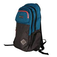 BACKPACK TECH ZONE SPORT 15.6 PULGADAS, MATERIALES PREMIUM REPELENTE AL AGUA, AZUL,GRIS Y NEGRO TECH