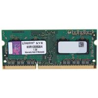 MEMORIA KINGSTON SODIMM DDR3 4GB PC3-10600 1333MHZ VALUERAM CL9 204PIN 1.5V P / LAPTOP KINGSTON KVR1