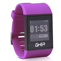 GHIA SMART WATCH VITALE /  1.28 TOUCH /  WATERPROOF /  BT /  IOS /  ANDROID /  MORADO GHIA GAC-037