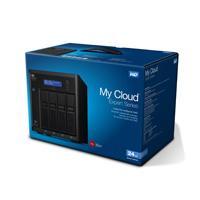 NAS WD MY CLOUD EX4100 24TB / CON 4 DISCOS DE 6TB / 4BAHIAS HOTSWAP / 1.6GHZ / 2GB / 2ETHERNET / 3US