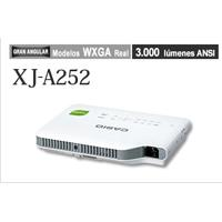 VIDEOPROYECTOR CASIO HIBRIDO LASERLED DLP XJ-A252 WXGA 3000 LUMENES 20,000 HORAS SLIM