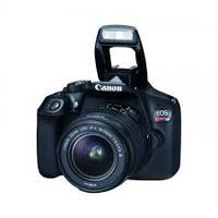 CAMARA CANON EOS T6, 18 MP CMOS, LCD3, V. FULLHD, 3CPS, WIFI, NFC. HDMI. C/LENTE 18-55MM / EF 75-300MM III