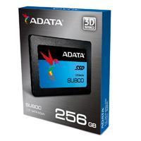 UNIDAD DE ESTADO SOLIDO SSD ADATA SU800 256GB 2.5 SATA3 7MM LECT.560/ESCR.520MBS SIN BRACKET PC/ALTO RENDIMIENTO