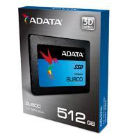 UNIDAD DE ESTADO SOLIDO SSD ADATA SU800 512GB 2.5 SATA3 7MM LECT.560/ESCR.520MBS SIN BRACKET PC/ALTO RENDIMIENTO