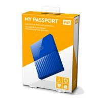DISCO DURO EXTERNOERNO PORTATIL 1TB WD MY PASSPORT AZUL 2.5/USB3.0/COPIA LOCAL/ENCRIPTACION/WIN