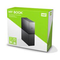 DD EXT ESCRITORIO 3TB WD MY BOOK NEGRO 3.5 / USB3.0 / COPIA LOCAL-SISTEMA / ENCRIPTACION / WIN-MAC W