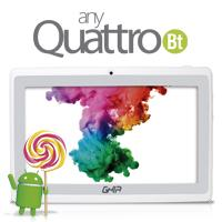TABLET GHIA ANY 7 QUATTRO BT 47418B/5PTOS/QUAD/1GB/8GB/2CAM/WIFI/ANDROID 5.1/BLUETOOTH/BLANCA