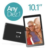 TABLET GHIA ANY 10.1  / 4104116N / 5PTOS / QUADCORE 1.3GHZ / 1GB / 16GB / 2CAM / WIFI / ANDROID 5.1