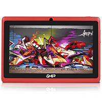 TABLET GHIA ANY 7 QUATTRO BT 47418R/5PTOS/QUAD/1GB/8GB/2CAM/WIFI/ANDROID 5.1/BLUETOOTH/ROJA