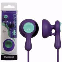 AUDIFONOS TIPO INSERCION (IN-EAR)  PANASONIC RP-HV41PP COLOR VIOLETA CONECTOR 3.5MM