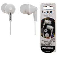 AUD�FONOS TIPO INSERCIÓN (IN-EAR)  PANASONIC RP-HJE125PP COLOR BLANCO CONECTOR 3.5MM PANASONIC RP-HJ