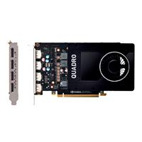 T. DE VIDEO PNY PCIE X16 3.0 PROFESIONAL QUADRO P2000 / 5GB / GDDR5 / ESTANDAR / 4 DP 1.4 / PC / ALT