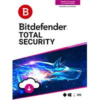 ESD BITDEFENDER TOTAL SECURITY MULTI DISPOSITIVOS 2017  /  5 USUARIOS  /  3 AÑOS (ENTREGA ELECTRONIC
