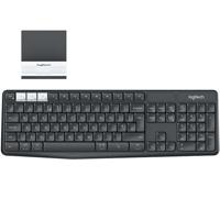 TECLADO LOGITECH K375S NEGRO / GRIS INALAMBRICO RECEPTOR MINI USB UNIFYING / BLUETOOTH MULTIDISPOSIT