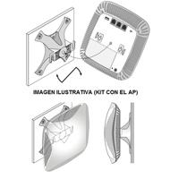 BASE KIT DE MONTAJE BLANCO PARA TECHO / PARED COMPATIBLE CON ARUBA AP INSTANT