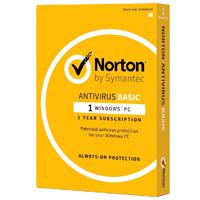 NORTON ANTIVIRUS BASIC ESP  /  1 DISPOSITIVO  /  1 AÃ'O CAJA SYMANTEC / NORTON TMNR-001