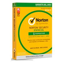 NORTON SECURITY ESENCIAL ESP  /  1 DISPOSITIVO  /  1 AÃ'O CAJA SYMANTEC / NORTON TMNR-002