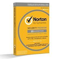 NORTON SECURITY PREMIUM ESP  /  10 DISPOSITIVOS  /  1 AÃ'O - INCLUYE 25GB SEGURIDAD EN LA NUBE CAJA S
