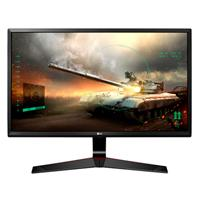 MONITOR GAMER LG 27 WIDESCREEN NEGRO FULL HD IPS TR 1 MS DISPLAY PORT HDMI VGA LG 27MP59G-P